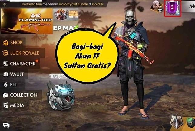Bagi Bagi Akun Free Fire Ff Sultan Gratis Jangan Mudah Percaya Indoesports Line Today