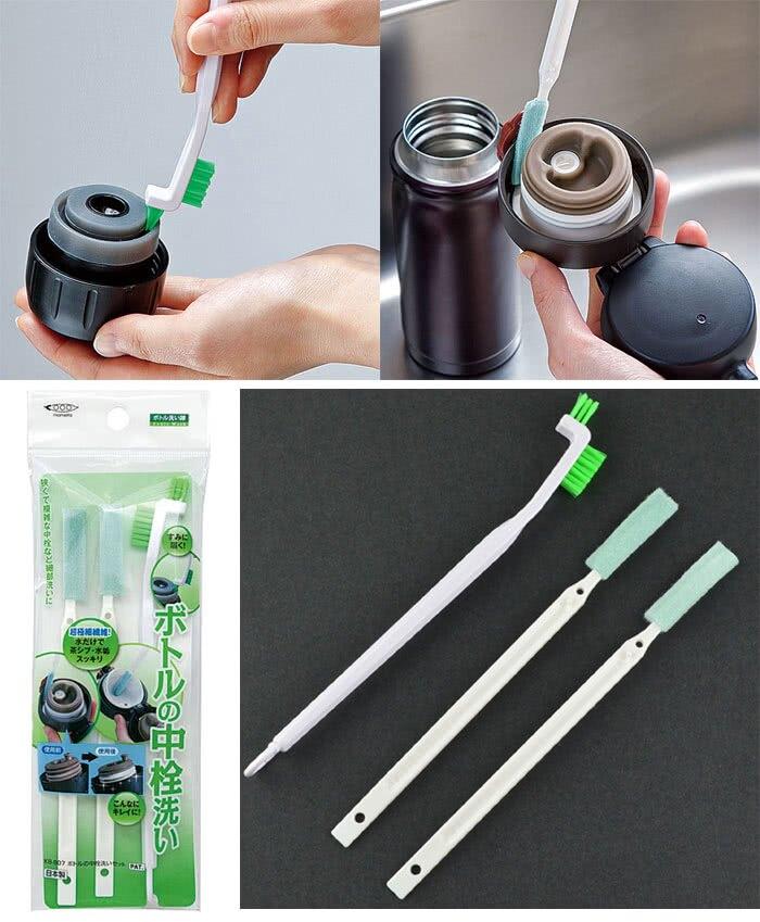 送日本製保溫瓶蓋洗潔刷 (數量有限、送完為止)