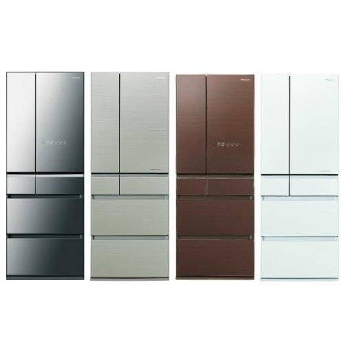 Panasonic國際牌600公升六門變頻冰箱翡翠白NR-F604HX-W1【三井3C】。人氣店家SANJING三井3C的家電、廚房家電有最棒的商品。快到日本NO.1的Rakuten樂天市場的安全環境