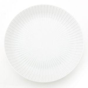 HOLA 日本洛紋飯盤 22cm 白