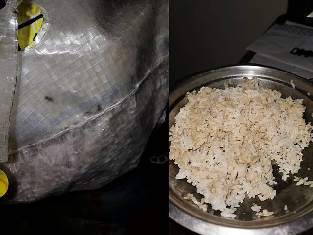 Beras dan nasi dari bansos (twitter.com/alexandermatius)