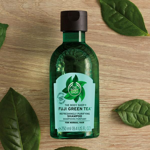 油頭髮質首選-富士山綠茶淨化洗髮精