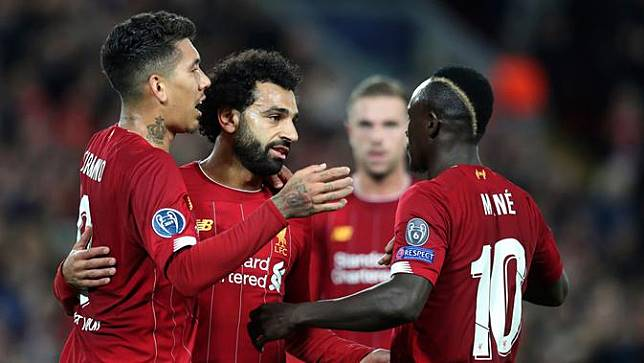 Hujan Gol di Anfield, Liverpool Menang Tipis atas Salzburg