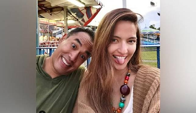 Nia Ramadhani bersama suaminya, Ardi Bakrie saat berlibur ke Amerika Serikat. Instagram