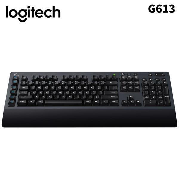 Logitech 羅技 G613無線機械式遊戲鍵盤/USB(黑)
