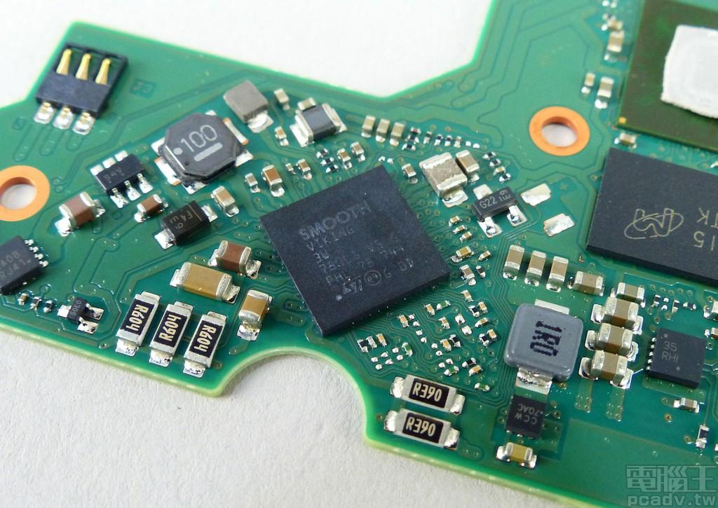 馬達控制晶片為 STMicroelectronics Smooth Viking 系列