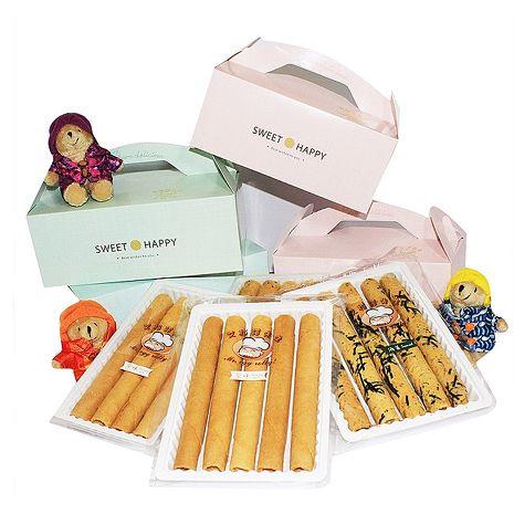 艾格諾先生手工蛋捲 甜蜜禮盒 (海苔)16入裝(4入1袋)