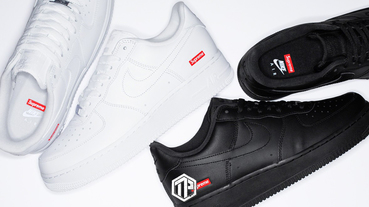 Supreme x Nike Air Force 1 Low 即將開售!