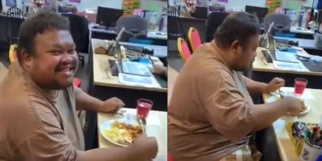 Pria cacat mental ini tidak makan nasi empat hari. (Foto: Twitter @MOFASAd)