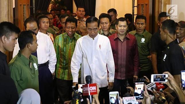 Jokowi Tetapkan Cawapres Pilpres 2019