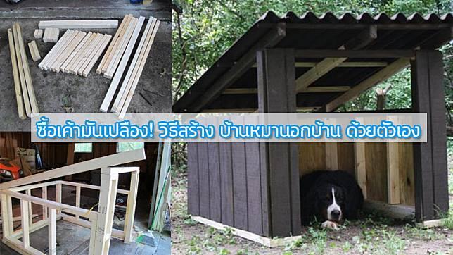 ซื้อเค้ามันเปลือง! วิธีสร้าง บ้านหมานอกบ้าน ด้วยตัวเอง