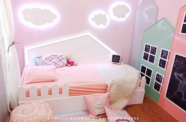 Cantik Banget Begini Desain Kamar Tidur Anak Bertema Kastil Kerajaan Idea Line Today