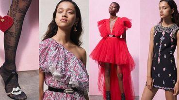人人都買得起的高級訂製服!H&M X Giambattista Valli推出平價聯名系列 夢幻碎花洋裝絕對值得收