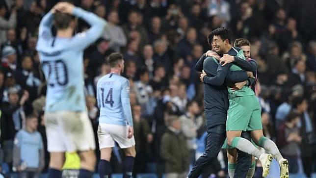Manchester City vs Tottenham: Kekalahan The Citizens Ramai Dibahas di Medsos