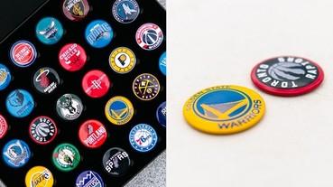 球魂整個大噴發!全新 NBA 隊徽磁鐵珍藏套組霸氣登場 你要的 30 支隊伍全部一次滿足!