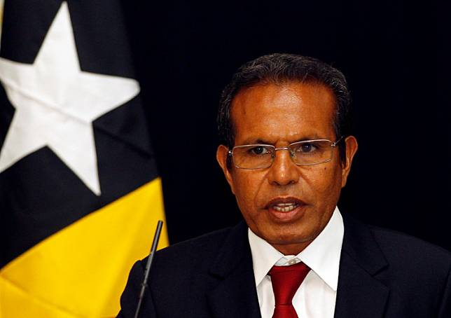 Prime minister of East Timor Taur Matan Ruak, who goes by a popular name rather than his birth name of Jose Maria de Vasconcelos, sent a letter of resignation to the president on Tuesday.