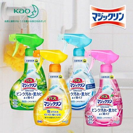 日本 Kao 花王 Magiclean 浴室泡沫清潔劑 380ml 清潔 除菌 消臭 魔術靈N100998