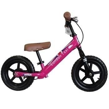 【英國 London Taxi KickBike】幼兒平衡滑步車-粉