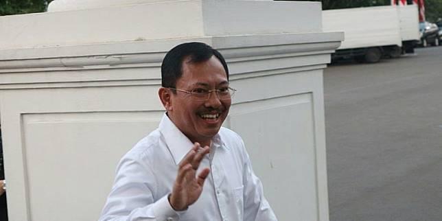 Kepala RSPAD Gatot Soebroto Dokter Terawan Datangi Istana