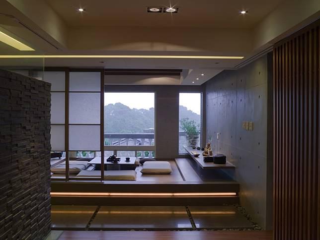 風景的引入與日式和室