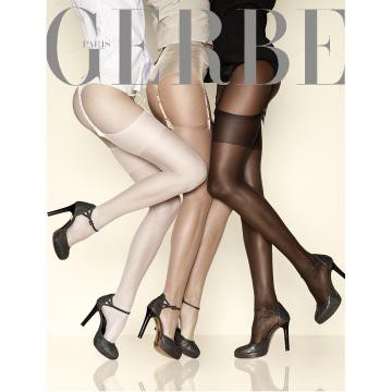 [GERBE] Ethnic Colours超透薄貼膚美肌吊帶襪(須搭配吊帶)