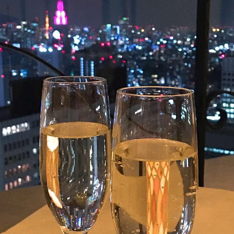 ユーザーが投稿したスパークリングの写真 - 実際訪問したユーザーが直接撮影して投稿した西新宿イタリアンピッツォランテ スパッカナポリの写真