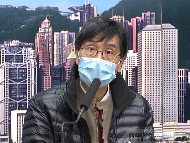 袁國勇認為,市民近日開始不注意個人衛生,令情況有少少進入失控狀態。(港台圖片)
