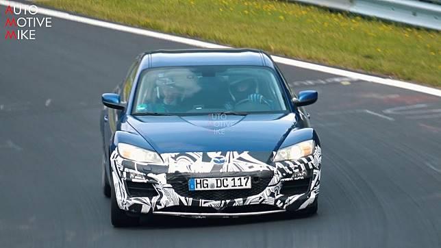 Mazda Tes RX-8 Berkamuflase di Nurburgring, Ngapain?