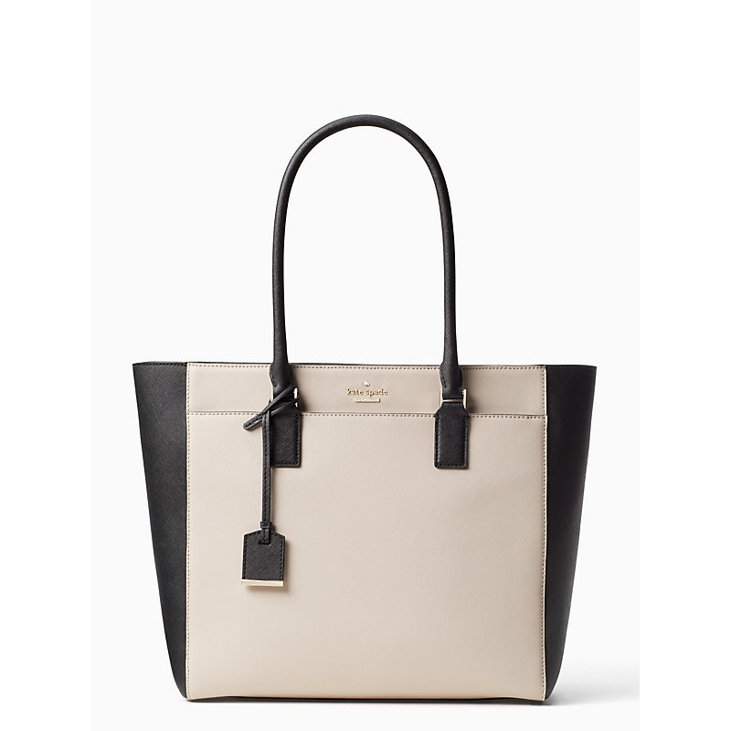 Kate Spade CAMERON STREET HAVANA 托特包 雙色超大容量手提包