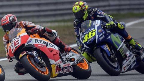 Gaji Baru Marquez dan Rossi di MotoGP 2019