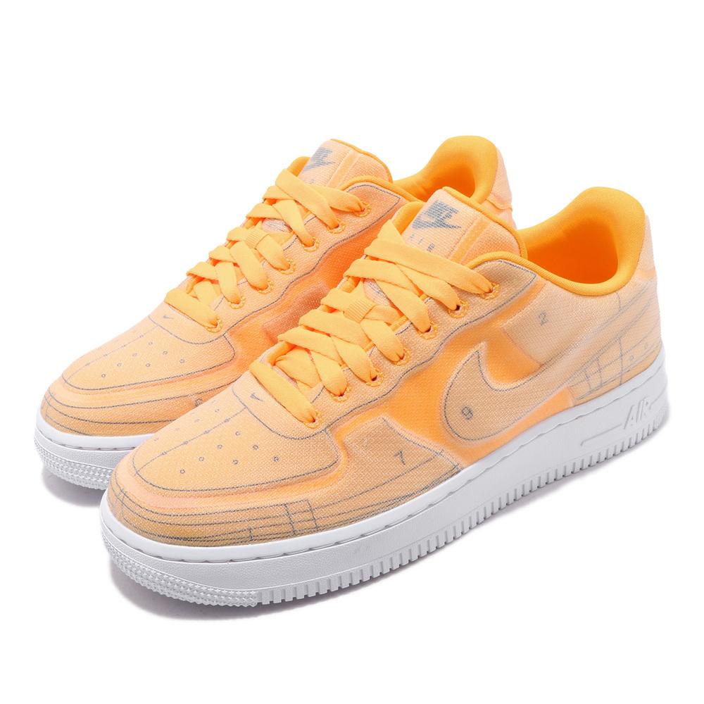 流行休閒鞋品牌:NIKE型號:CI3445-800品名:AF1 07配色:橘色,白色