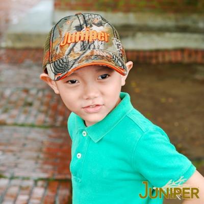 JUNIPER 防曬迷彩運動網帽遮陽鴨舌親子童帽