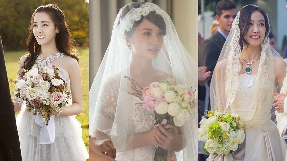 楊丞琳、李榮浩要結婚啦!她早穿了近10次婚紗,盤點10位女星電視劇的婚紗造型
