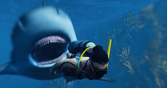 鯊魚版GTA《Maneater》成為海上霸主巨鯊,在海裡橫衝直撞