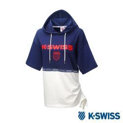 ◎型號:192960-400 ◎運動時尚的高調態度 ◎完美融合功能和潮流感品牌定位:運動品牌品牌:K-SWISS款式:T恤適穿對象:女生主材質:棉尺寸:S,M,L,XL袖長:短袖顏色:藍色系適穿季節: