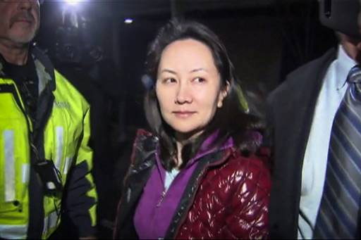 CTV / AFP กระทรวงยุติธรรมของสหรัฐฯจะเดินหน้าขอส่งตัวผู้ร้ายข้ามแดนเมิ่ง ว่านโจว จากแคนาดาให้ทันกำหนดเส้นตาย 30 มกราคม