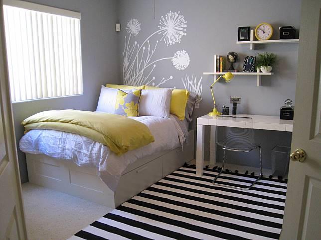 Desain Kamar Tidur Sederhana Ukuran 2x2  10 desain kamar tidur di rumah mungil buat yang baru nikah