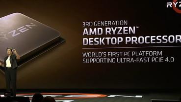 AMD 桌上型 Ryzen 3000 系列處理器與 Radeon VII 顯示卡升級 PCIe 4.0,主機板廠商尚有多個問題需克服