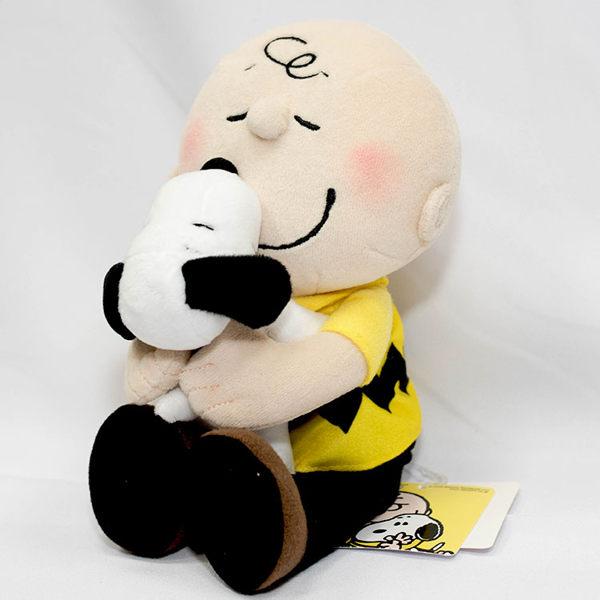 查理布朗 抱抱 Snoopy 史努比n日本帶回正版商品n品質超讚 高約20cm