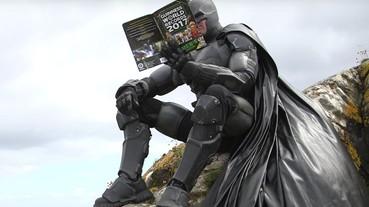蝙蝠俠粉絲打造真實版蝙蝠裝 打破金氏世界紀錄!
