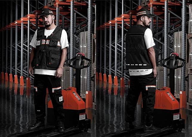 Snapback、Utility Vest、Logo Tee、Cargo Pants(互聯網)