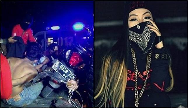 Dea Imut Cewek Ketua Gangster Tangerang Yang Kerap Cari Ribut Di