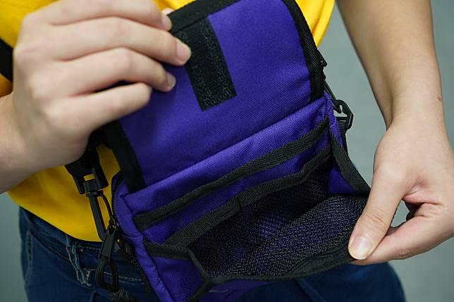 間隔實用,適合當旅行小袋。