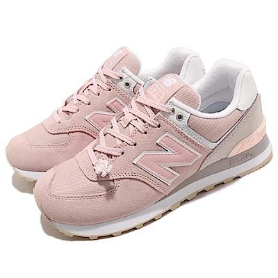 品牌: NEW BALANCE型號: WL574TACB品名: WL574TAC B配色: 粉紅色 白色特點: 紐巴倫 復古 麂皮 球鞋 小粉鞋 網美 粉 白