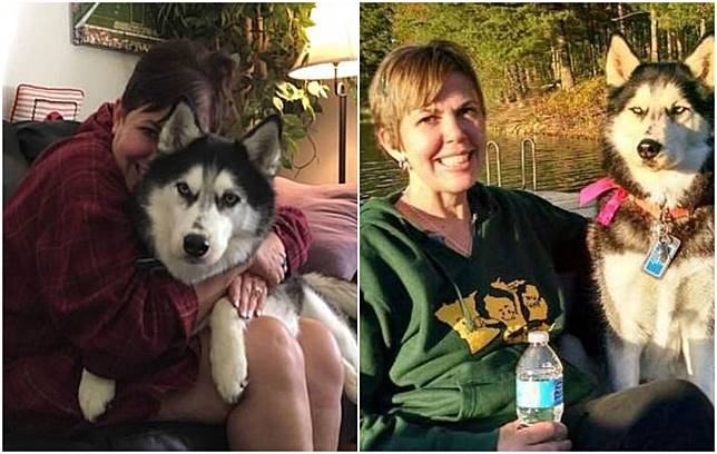 Wanita ini mengaku berhutang nyawa pada anjingnya setelah diendus perutnya.