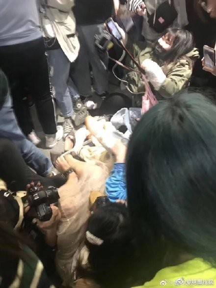 Hordes of K-pop fans cause chaos at Shanghai Hongqiao airport as they try to catch a glimpse of their idols