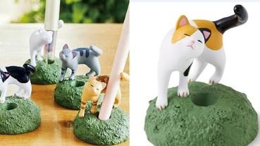 繪圖板筆超適合!日本推出「撒嬌貓咪尾巴」筆架 被喵星人捲著的筆太可愛!