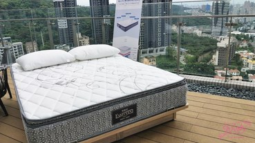 寢具品牌織眠家族與豪宅馥人灣的獨立筒床墊推薦品牌
