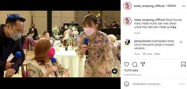 Maia Estianty singgung wanita penggoda di depan Mulan (Instagram.com)