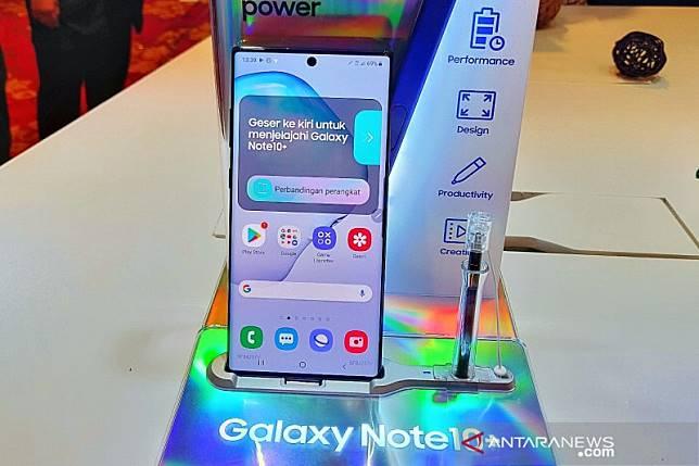 Samsung Note10 dan10+ permudah konten kreator bikin video